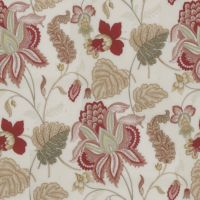 jacobean blossom red green